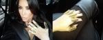 Kim Kardashian og hnúahringarnir