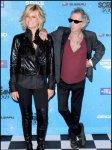 Keith Richards og Patti Hansen